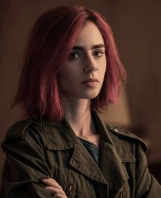 Lily as Red in Okja Film