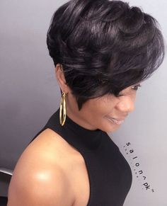 Are you ready for a change and an amazing new look? Then you may be ready for one of the hottest, modern hairstyles of the year. This article will discuss a few of the more current hairstyles that … Girls Short Haircuts, Stylish Haircuts, Short Black Hairstyles, Modern Hairstyles, Bob Hairstyles, Protective Hairstyles, Short Sassy Hair, Short Hair Cuts, Short Hair Styles