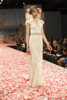 lovely Claire Pettibone gown - Bridal Fashion Week 2012: Top Trends From Designers' Fall 2013 Collections