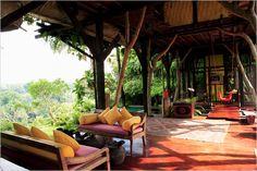 Stunning Balinesian jungle house