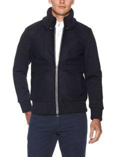 Melton Wool Bomber Jacket by Wings + Horns