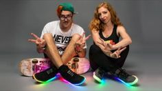 Make Your Own LED Shoes That Light Up When You Walk