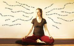 Mediteren met 1000 gedachten Yoga, Studio, Home Decor, Decoration Home, Room Decor, Study, Yoga Sayings, Interior Decorating