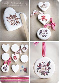 Terracotta ornaments - by Craft & Creativity