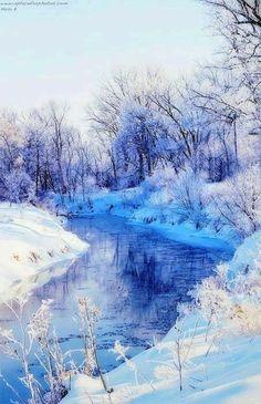 ideas for nature winter wonderland snow scenes Winter Szenen, Winter Magic, Winter Christmas, Winter Blue, Winter Fairy, Minimal Christmas, Natural Christmas, Prim Christmas, Christmas Scenes