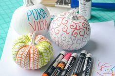 PaintedPumpkins-8