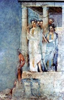 Pompeii. House of L. Caeciius Jucundus: Wall Painting, Iphiginia in Taurus. The Roman Society, Imago, Searching & Saving