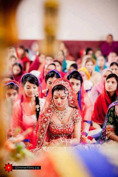 South Asian Indian Sikh Bride