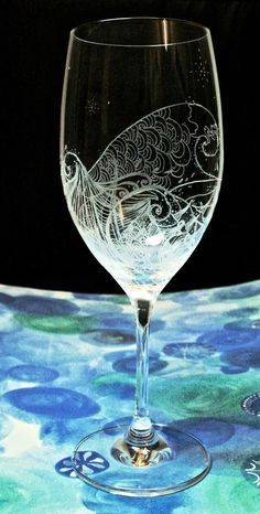 Hey, I found this really awesome Etsy listing at https://www.etsy.com/listing/240985098/beach-wave-glass-hand-engraved-bohemia