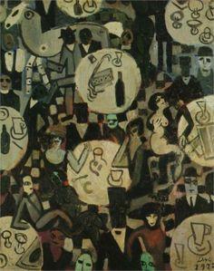 Salvador Dali  Still LIfe (cubism) 1923