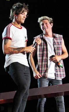 Louis and Niall 8.1.14