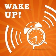 Wake Up Alarm Wake up alarm vector illustration. Editable EPS and Render in JPG format Created: 10 December 13 Graphics Files Included: JPG Image EPS Layered: No Minimum Adobe CS Version: CS Tags alarm Vector Design, Flyer Design, Logo Design, Alarm Clock Design, Ecommerce Logo, Logo Images, Vector Graphics, Website Template, Graphic Prints