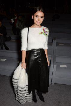 Miroslava Duma at Tom Ford F/W Fashion show l February, 2014