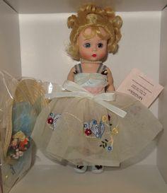 "NRFB Madame Alexander SHADOW BLUE BIRD WENDY 8"" Doll #37135 bluebird"