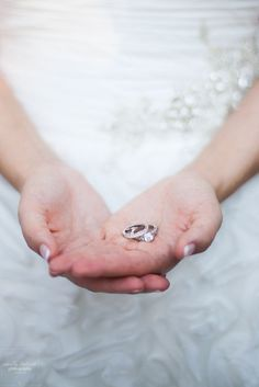 Such a sweet wedding ring photo idea | Emily Lapish Photography
