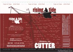 mybeerbuzz.com - Bringing Good Beers & Good People Together...: Rising Tide - Cutter 16oz Cans & Waypoint 12oz Can...