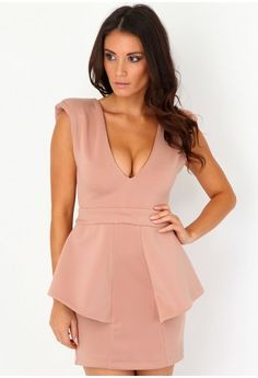 Another choice of dress. available in nude, blush or coral.