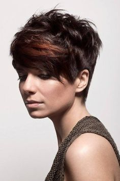 Mobile Diva - short brown straight hair styles (Style No: Hairstyles Haircuts, Trendy Hairstyles, Straight Hairstyles, Pixie Haircuts, Fashionable Haircuts, Brown Hairstyles, Hair Styles 2016, Medium Hair Styles, Short Hair Styles