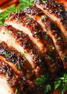 Brown Sugar Dijon Glazed Pork Loin with Carrots, Apples and Sweet Potatoes is an excellent choice for a Sunday dinner or holiday meal.