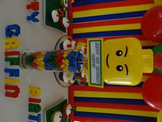 Griffin's Lego Birthday Party