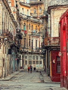 Havana- one of the most interesting places I've ever been.  Poor, yet joyful, American 50's, Russian 80's, Spanish style- makes me miss my dear Cuban friends!