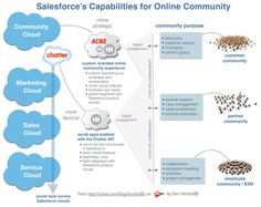Salesforce's Capabilities for Online Community: Chatter and Community Cloud