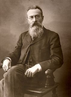 Those attending the Melbourne concert will definitely hear some Rimsky-Korsakov - who's looking pretty fab in sepia. Book NOW at www.artscentremelbourne.com.au or 1300 182 183