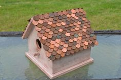 Penny Copper Roof Birdhouse