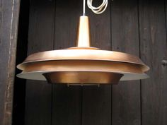 Vintage Pendant lamp, 1970s Made in Denmark  4,500 hkd ea | 1 pc | Enameled metal