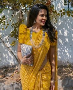 5 Puff Sleeve Blouse Designs To Match Your Saree Look – Threads – WeRIndia Blouse Back Neck Designs, Silk Saree Blouse Designs, Fancy Blouse Designs, Designs For Dresses, Bridal Blouse Designs, Saree Jacket Designs Latest, Pattern Blouses For Sarees, Saree Blouse Models, Indian Blouse Designs