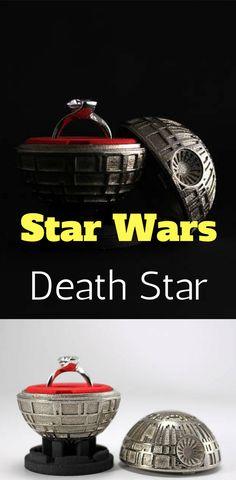 Death Star Ring Box - Star Wars Rings #starwars #rings #deathstar