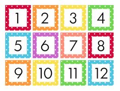 Free printable fall calendar numbers teach many early math skills. These calendar numbers are perfect for preschool, kindergarten, or home classrooms. Kindergarten Calendar, Preschool Calendar, Classroom Calendar, Kids Calendar, Preschool Kindergarten, Free Printable Calendar, Templates Printable Free, Free Printables, Polka Dot Classroom