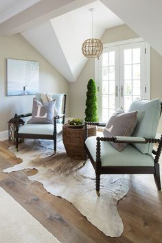 Hallway Sitting Area | Renae Keller Interior Design