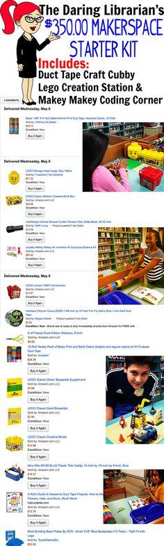 The Daring Librarian: Makerspace Starter Kit