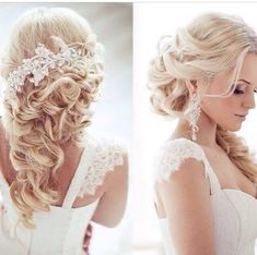 Great Wedding hairstyle  Ideas don't forget to visit us on our site at http://www.strictlyweddings.com
