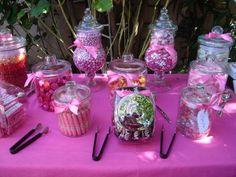 Love the Candy Bar idea