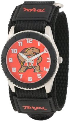 """Game Time Unisex COL-ROB-MD """"Rookie Black"""" Watch - Maryland"""