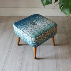 Ottoman, Furniture, Vintage Cocktail Chair, Stool, Beautiful Furniture, Mid Century Stools, Mid Century, Upholstered Stool, Chairs Armchairs