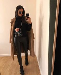 November 14 2019 at fashion-inspo Casual Winter Outfits, Edgy Outfits, Winter Fashion Outfits, Mode Outfits, Simple Outfits, Classy Outfits, Look Fashion, Fall Outfits, Autumn Fashion