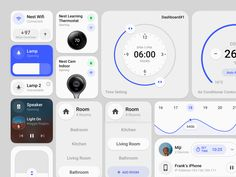 Smart Home Control Element Smart Home Steuerung, Smart Home Control, Best Ui Design, Web Design, Design Sites, Android App Design, Software Apps, Ui Components, Ui Elements