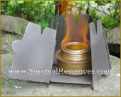 TRANGIA SPIRIT ALCOHOL  BURNER $14.95_It is small & light, & one of the most reliable alcohol burners, with a track record of 1/2 a century! It uses Denatured Alcohol & you can store alcohol inside the stove, as it has a twist on cap with an o-ring seal. It has a simmer ring that allows you to adjust the flame down to a simmer. It works well inside a windscreen & I use it inside the Vargo Hexagon Stove or under the Grill Top Stove Stand. You can use other means to hold a pot over the burner.