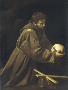Caravaggios Franciskus in Meditation