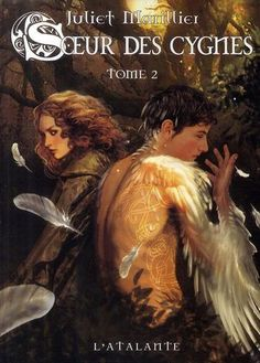 I think this is French, it's the cover of Daughter of the forest, I really love the art, and well, Finbar, my fav character is on it.
