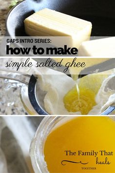 GAPS Intro Series: How to Make Ghee - The Family That Heals Together
