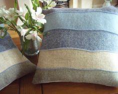 Isles Beaches Harris tweed cushion cover