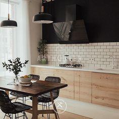 Вот это кухня без верхних шкафов - кто спрашивал. RepostBy @arthuntershop