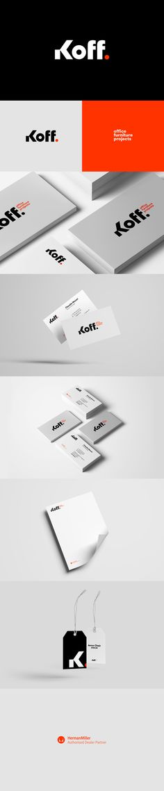 Koff. Graphic Identity and branding Designed by: Alessandro Laezza