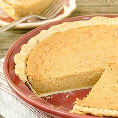 Baked Peanut Butter Pie