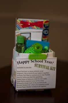 School Survival Kit- single kit, via Flickr.