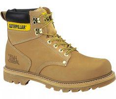3593658de Coturno Caterpillar Cat Men's Second Shift Work Boot Honey #Coturno #Cat  Tênis Nike,